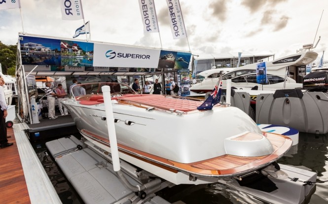 Superior exhibit at 2012 Sanctury Cove International Boat Show