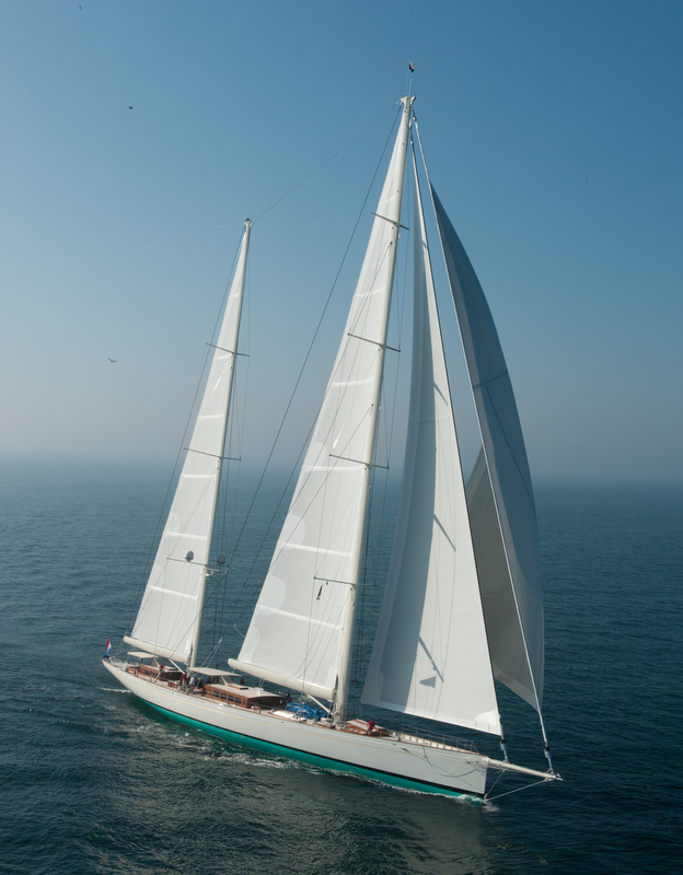 Superyacht Kamaxitha (Project Spirit of Tradition) by Royal Huisman