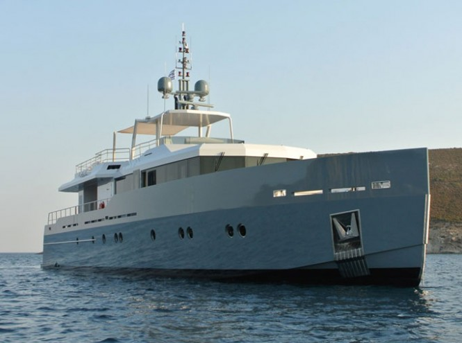 The 2012 Only Now superyacht by Tansu Yachts and Diana Yacht Design