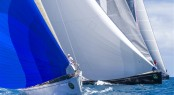 Tight competition in Class A at the Rolex Swan Cup Caribbean 2013 - Photo by Rolex Carlo Borlenghi
