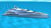 V120 superyacht design concept by IP.YD