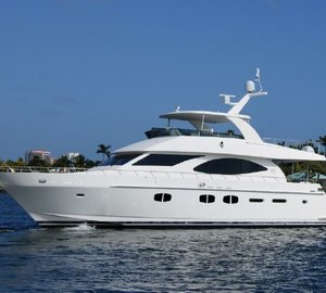 Hargrave's yacht line-up at Palm Beach Boat Show 2013