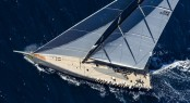 WallyCento luxury yacht Hamilton by Wally Yachts and Green Marine - Image by RolexCarlo Borlenghi