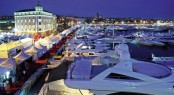 Luxury Yachts at the Croatia Boat Show located in Split - a popular Croatia Yacht Charter destination