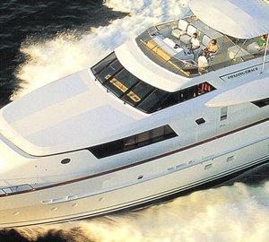Safe Harbor Maritime Academy's Summer Mega Yacht School aboard 114ft motor yacht AMAZING GRACE