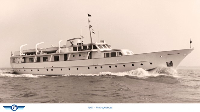 1967 luxury yacht The Highlander
