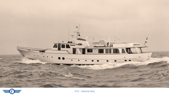 1972 superyacht Heavenly Daze