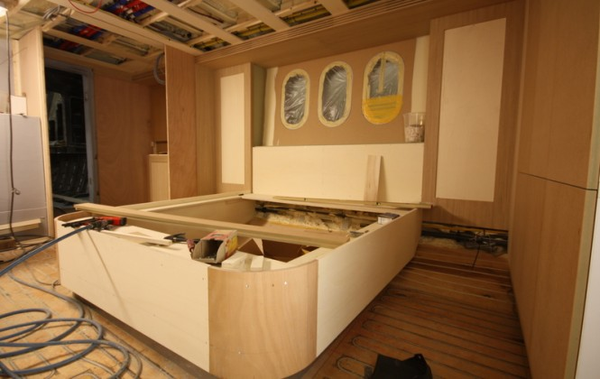 26m Continental III Yacht - Cabin