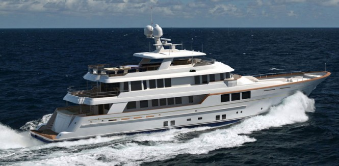 45m luxury motor yacht KARIA by RMK Marine