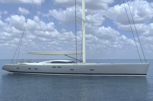 45m sailing yacht Y3 by Holland Jachtbouw