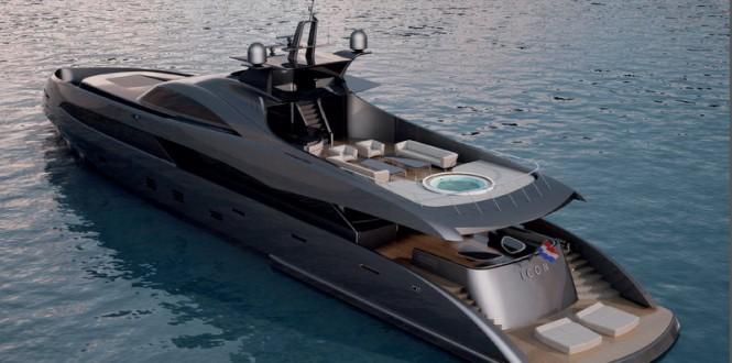 53m superyacht ER175 concept by Ivan Erdevicki