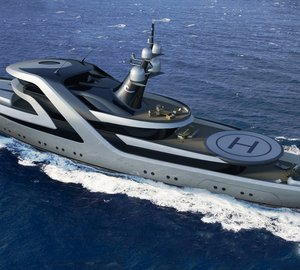 ICON Yachts Design Challenge: 59m superyacht conversion design by H2 Yacht Design