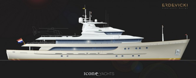 59m superyacht conversion design by Ivan Erdevicki