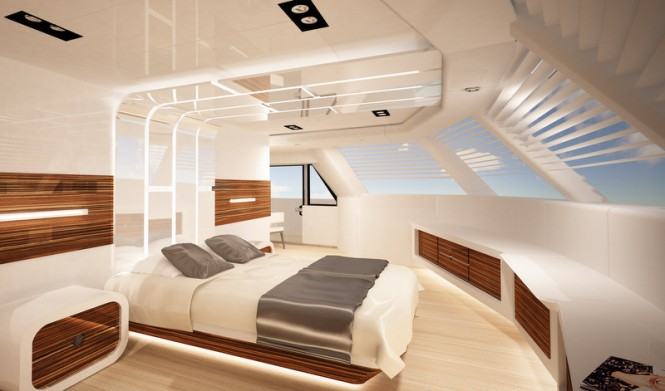 90 Sunreef Power Yacht - Cabin