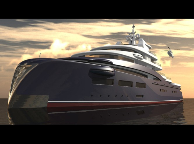 98m Expedition Yacht Concept by Sam Sorgiovanni