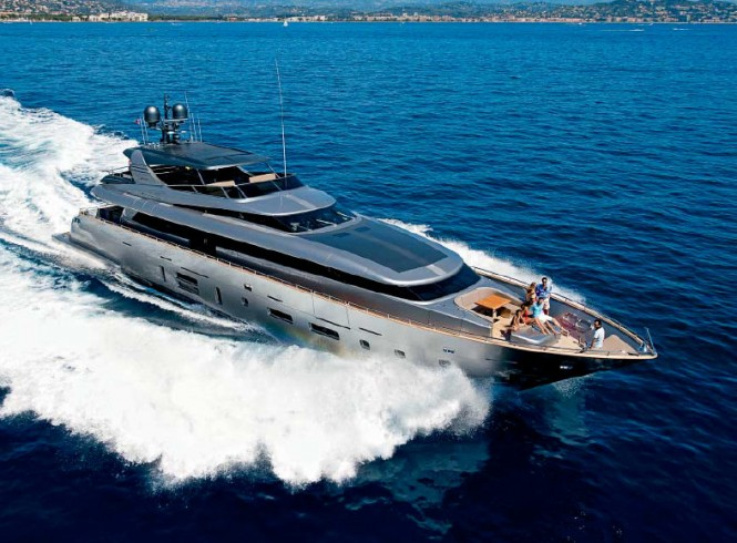 A sister ship to second Canados 120 Yacht - Superyacht Far Away