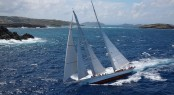 Adela Yacht designed by Dykstra Naval Architects - Winner of St Barths Bucket 2013
