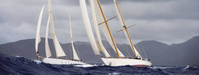 Antigua Classic Yacht Regatta 2013, April 18 - 23