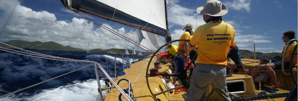 Antigua Sailing Week - Photo of Ambersail yacht by Kevin Johnson