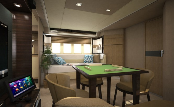 Azimut 64 yacht - Lower Deck