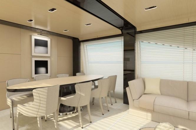 Azimut 80 Yacht - Dining