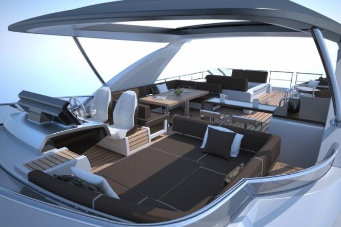 Azimut 80 Yacht - Fly