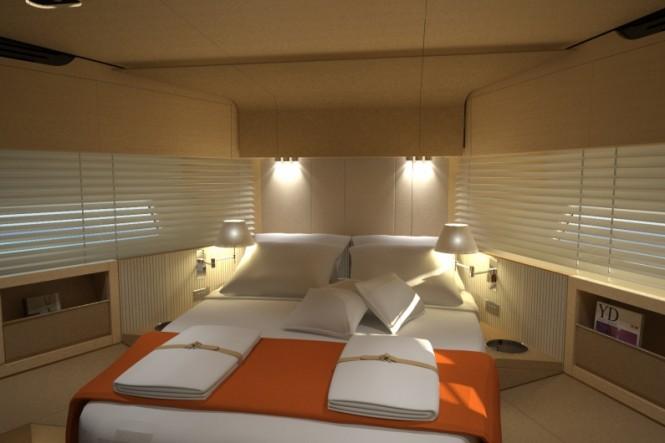 Azimut 80 superyacht - VIP Cabin