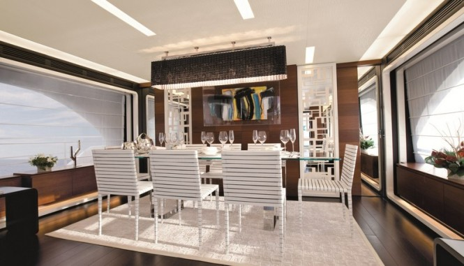Azimut Grande 100 Yacht - Dining