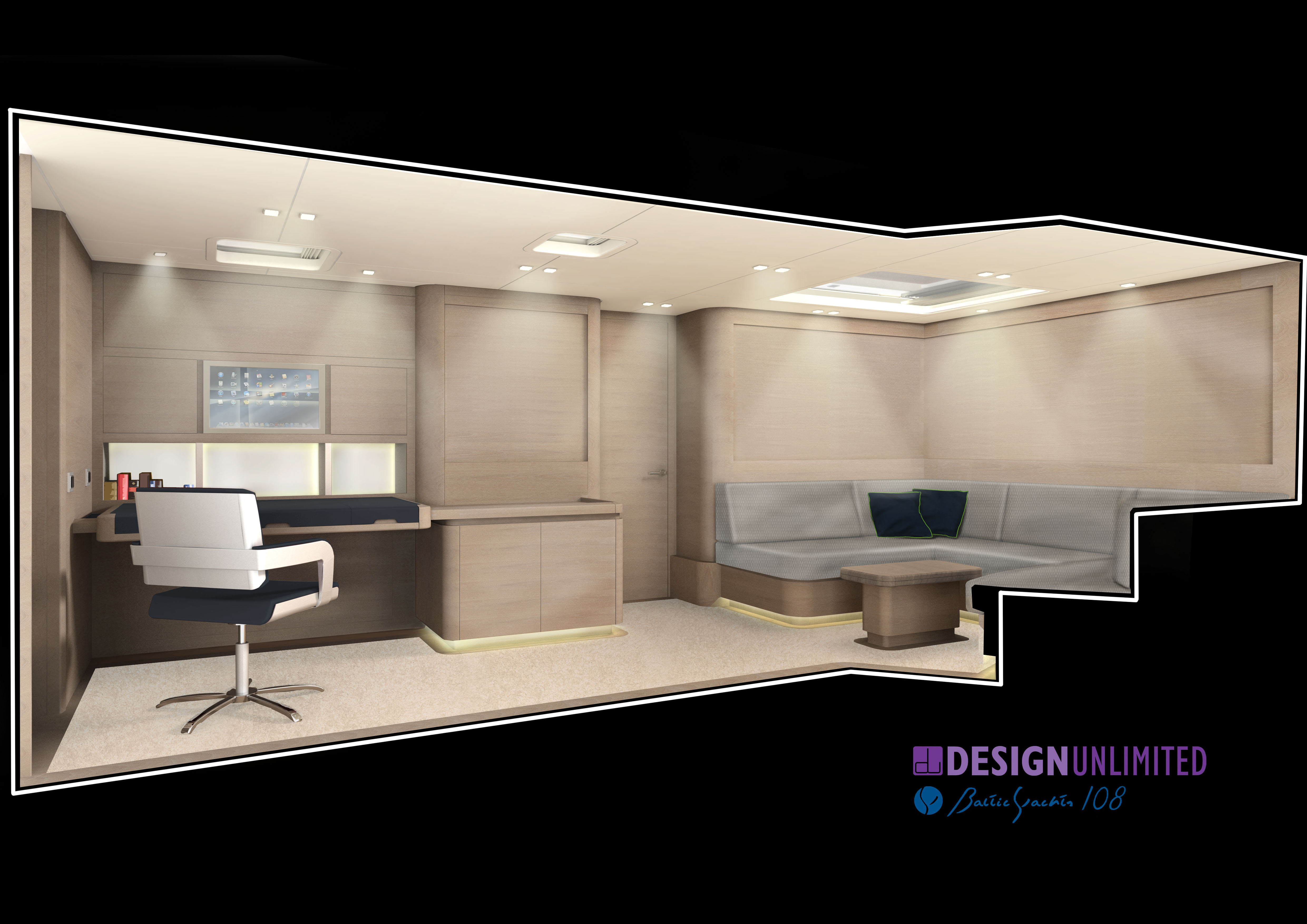 Baltic yachts 108 winwin superyacht study yacht for Interior designs unlimited