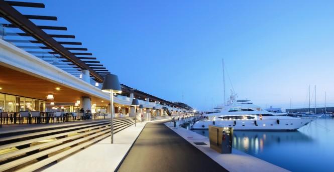 Beautiful Port Adriano in Mallorca