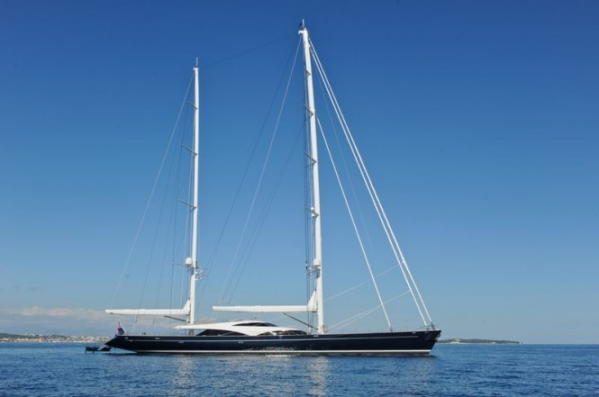Boat show debut for sailing yacht Twizzle at the 2013 Singapore Yacht Show