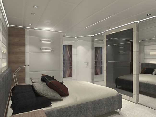 Canados 120 luxury yacht Hull No. 2 - Vip Cabin