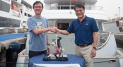 Christening ceremony of new Horizon EP115 Yacht Tango 5 with Owners