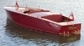Classic yacht tender Mistral by Chris-Craft which featured in the film �On Golden Pond�