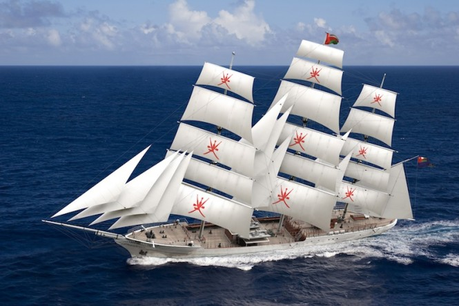 Clipper Orchid sailing rendering, designed by Dykstra Naval Architects - Image credit Dykstra Naval Architects