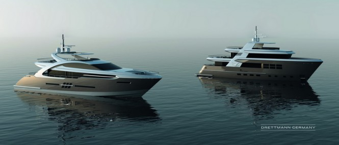 DEY32M and DMY32M Yacht Concepts by Drettmann Yachts