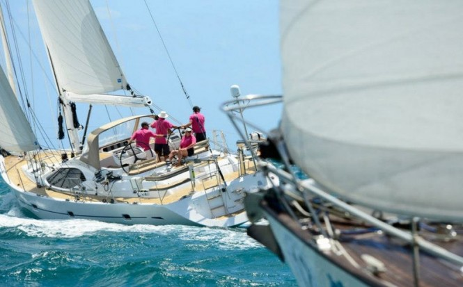 Day 2 at the Oyster Regatta Grenada 2013