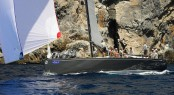 Hamnett Hill's Marten 49 yacht Defiance - Credit: Todd VanSickle/BVI Spring Regatta