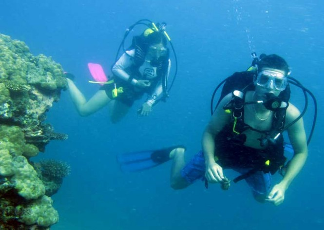 Diving in Fiji - Photo courtesy of Masteka 2 yacht