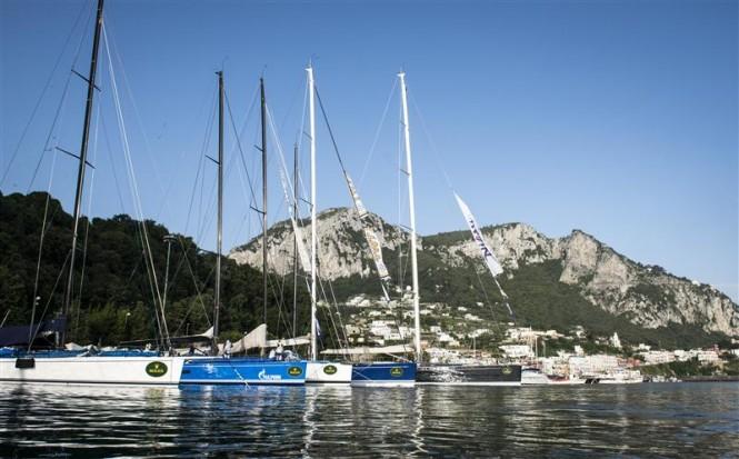 Dockside at the Marina Grande in Capri