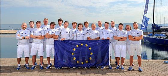 Esimit Europa racing crew