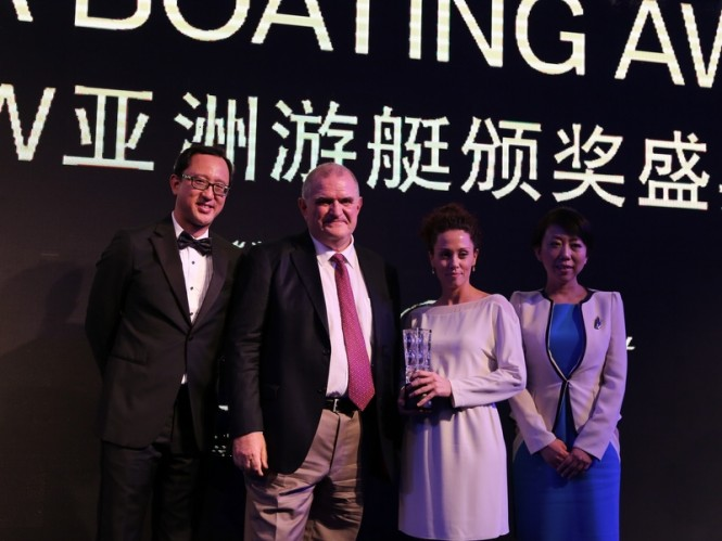 Ferretti 690 Yacht awarded at Asia Pacific Boating Awards 2013