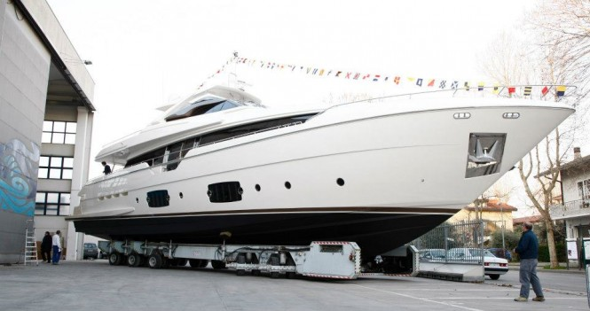 Ferretti 960 yacht