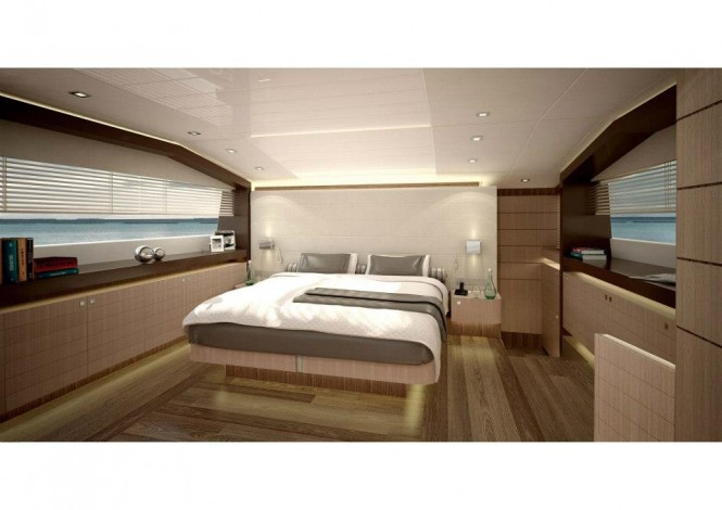 Ferretti 960 yacht interior