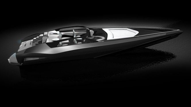 Fusion yacht tender concept by Red Design