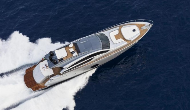 Hainan Rendez-Vous 2013 featured superyacht Pershing 82