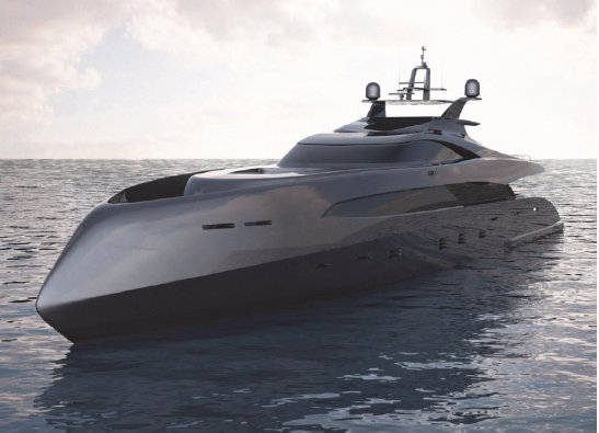 ICON ER175 Yacht Concept by IVAN ERDEVICKI