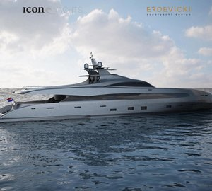 ICON Yachts ready to construct a new award-winning design: ICON-ER175 yacht concept