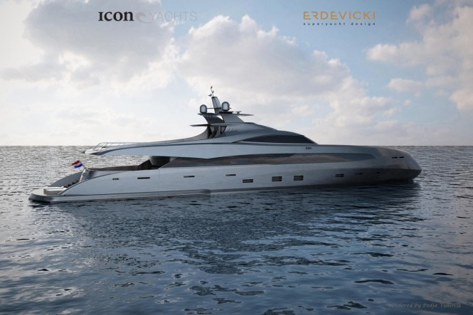 ICON ER175 yacht concept