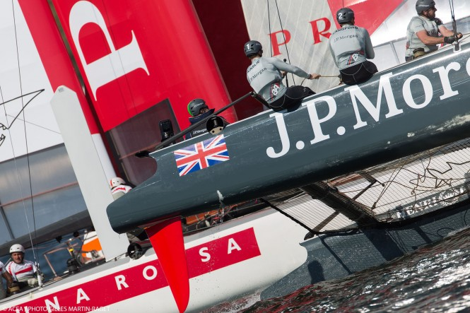 J.P. Morgan BAR and Luna Rossa